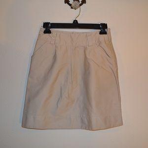 Romy cream colored skirt xs
